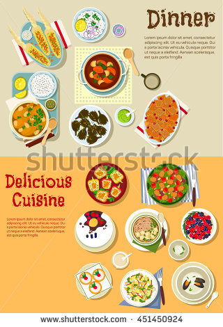 Vector Images, Illustrations and Cliparts: Weekend menu with.