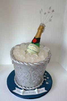 Champagne Cake.