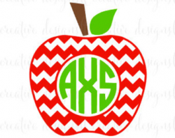 Apple clipart monogram, Picture #229072 apple clipart monogram.