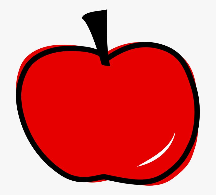 Red Apple Svg Clip Arts 600 X 574 Px.