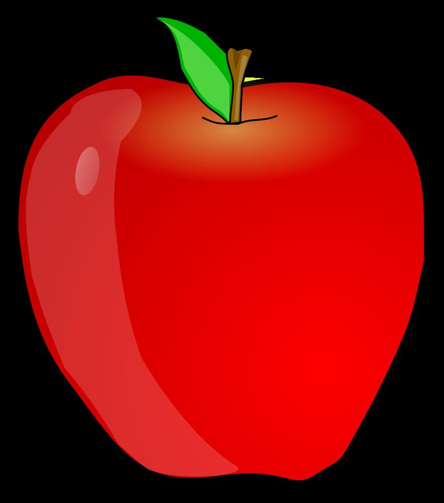 Teacher Apple Clipart.