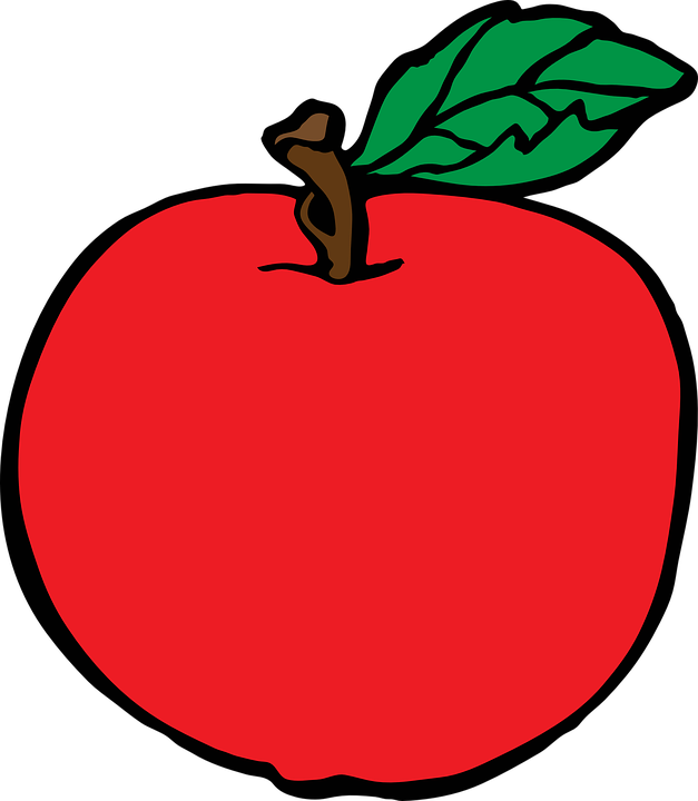 Free vector graphic: Apple, Fruit, Healthy, Organic.