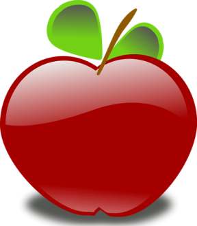 Apple Clipart Background.