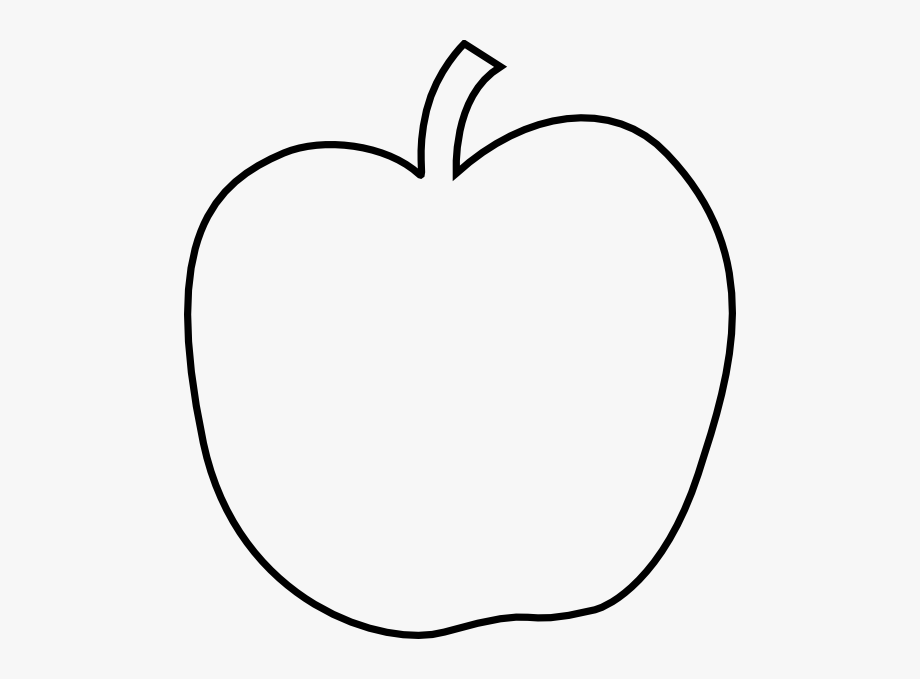 Apple Black White Apple Black And White Apple Clipart.
