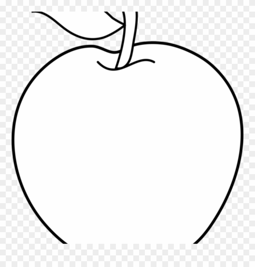 Apple Clipart Black And White Apple Clipart Black And.