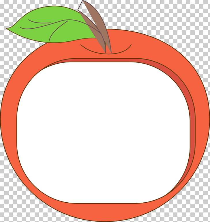 Apple , Red Apple Border PNG clipart.