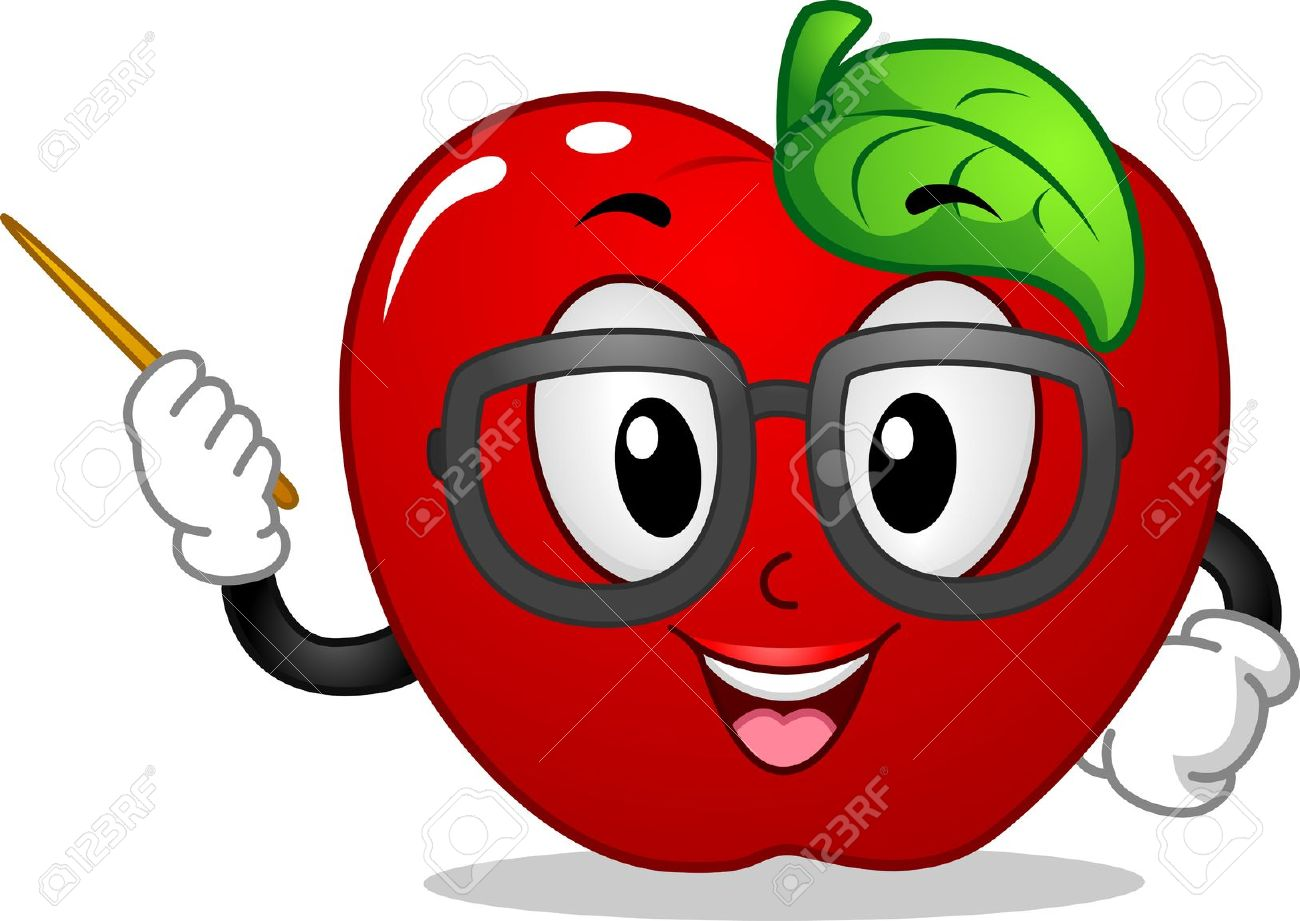 Apple Clipart Cartoon.