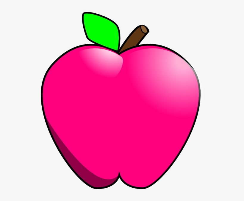 Magenta Apple Clip Art At Clker.