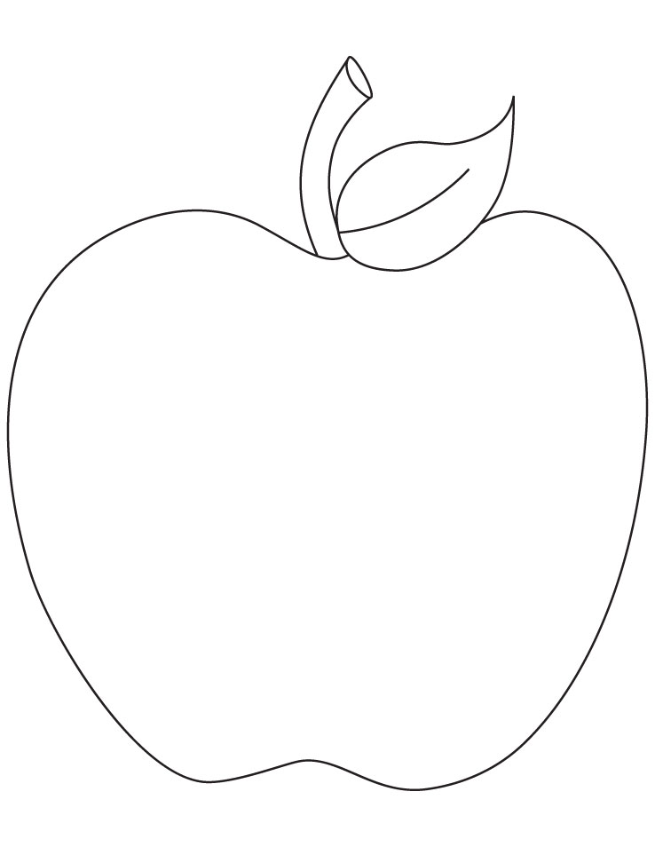 Free Printable Coloring Page Apple Picking.