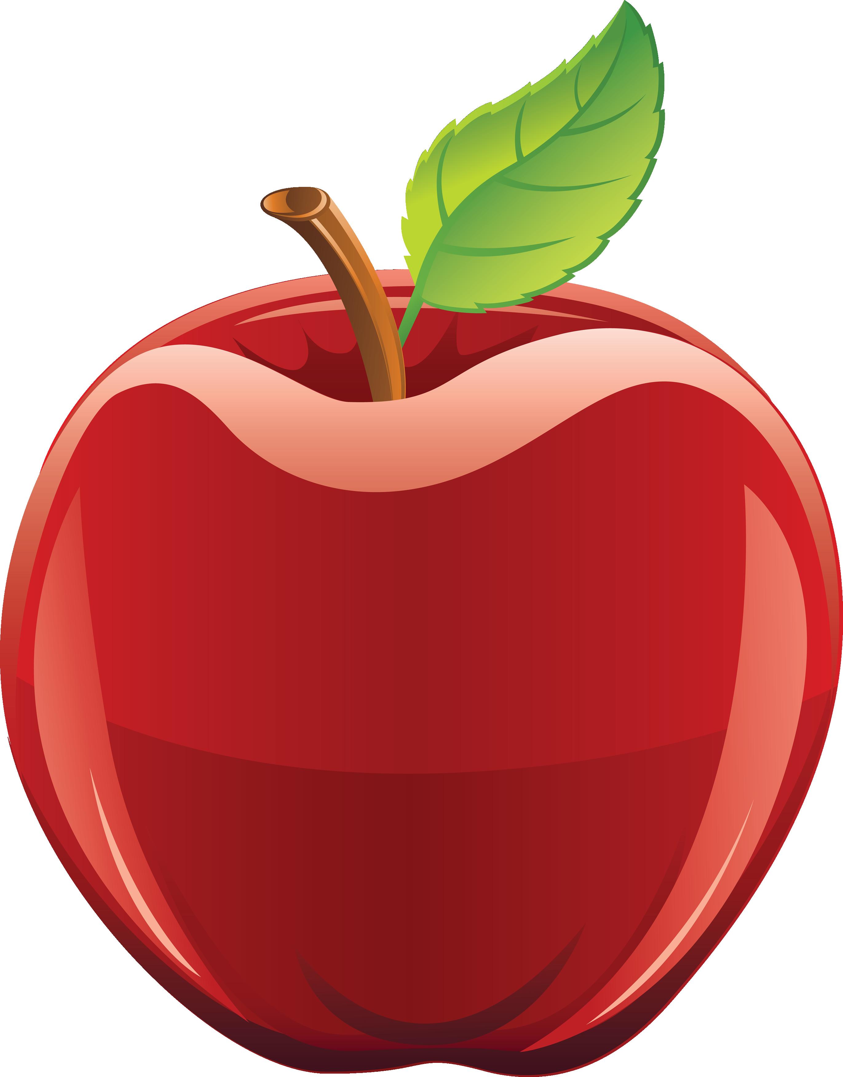 Cute apple clip art free clipart image 2 3.