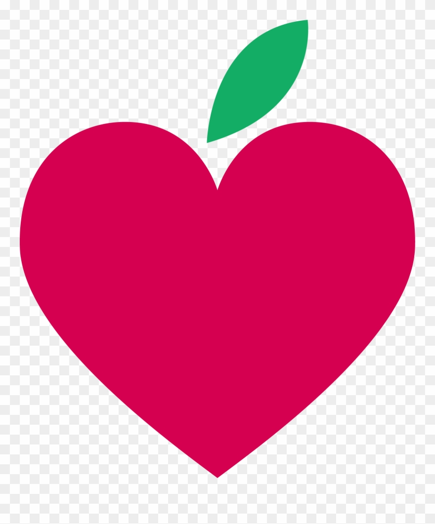 Apple Hearts 1598*1855 Transprent Png Free Download.