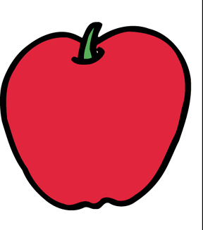 Apple clipart no background.