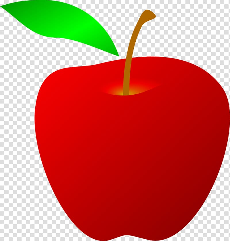 Red Apple Drawing , apple fruit transparent background PNG.