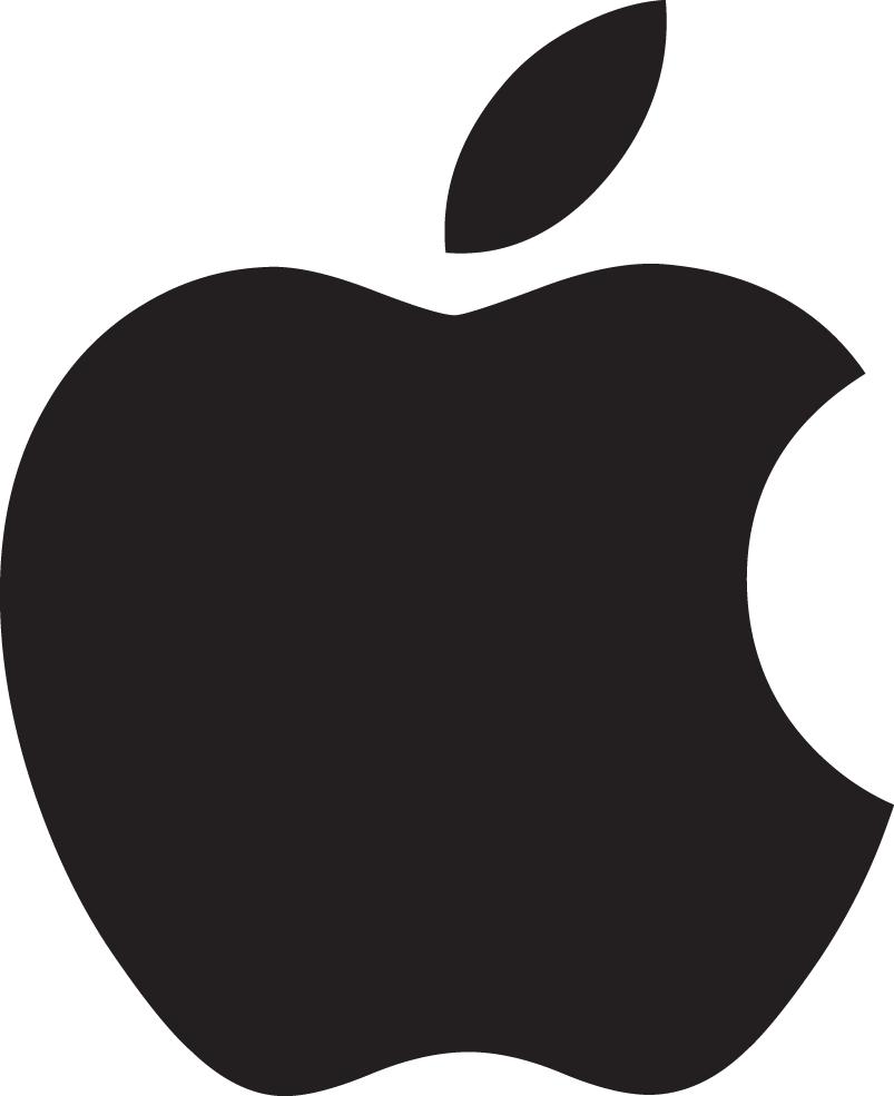 Apple Logo Free Clipart.