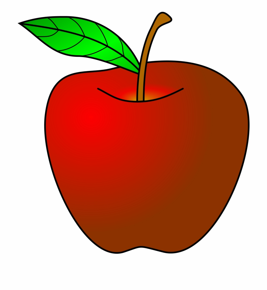 Teacher With Apple Png.