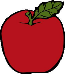 Apple Clip Art at Clker.com.