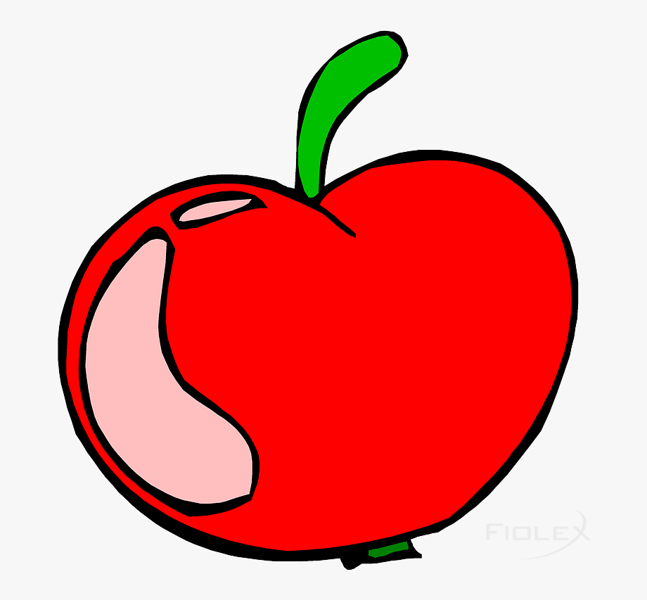Vector Graphic Apple Clipart.