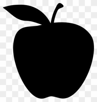 Totetude Apple Clip Art.