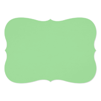 Green Apple Color Invitations & Announcements.