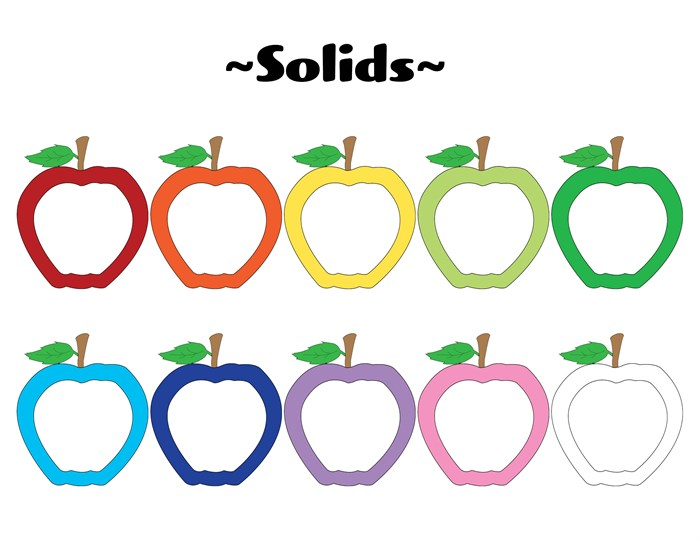 22 FREE Printable Apple Accents/Graphics!.