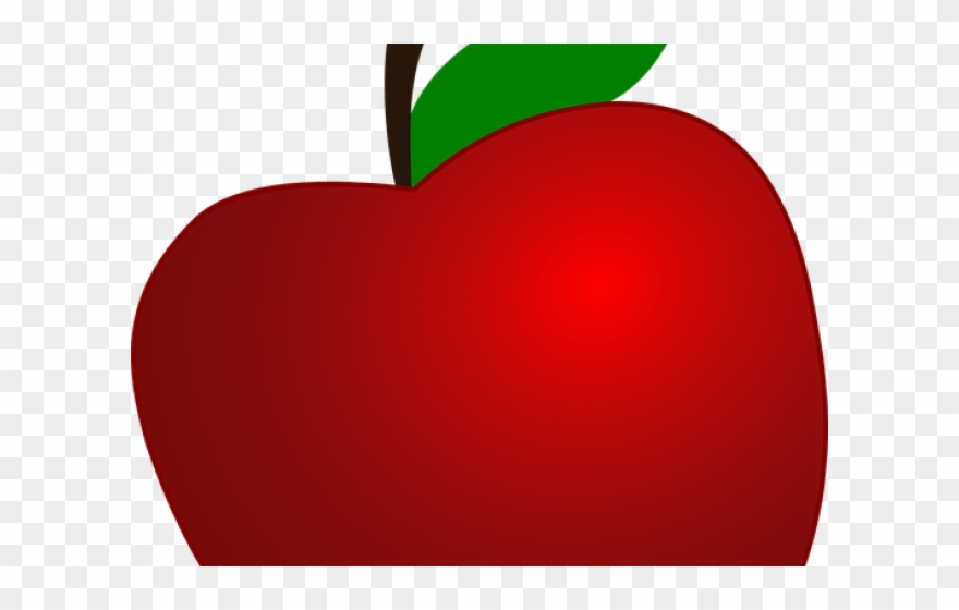 Apple Fruit Clipart Transparent Background.