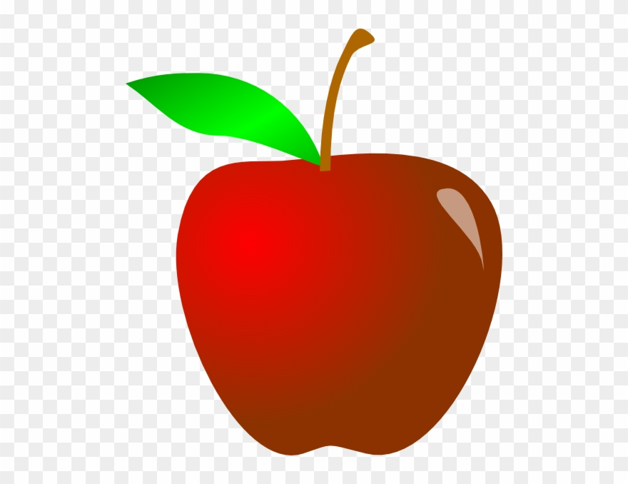 Big Apple Clipart Transparent.