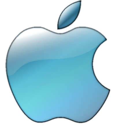 Black Apple Logo Transparent Background.