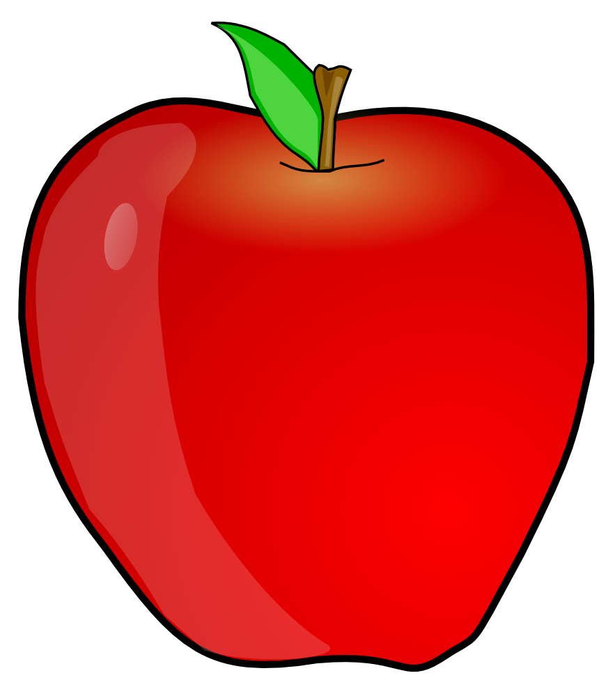 Apple Clipart For Kids.