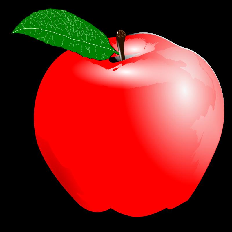 Apple background clipart kid 2.