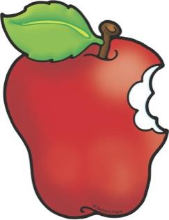 Bite Apple Clipart.