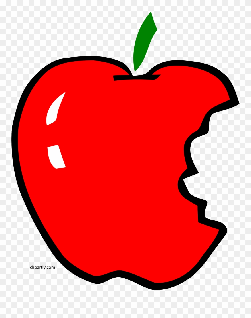 Apl Bite Apple Clipart Png.