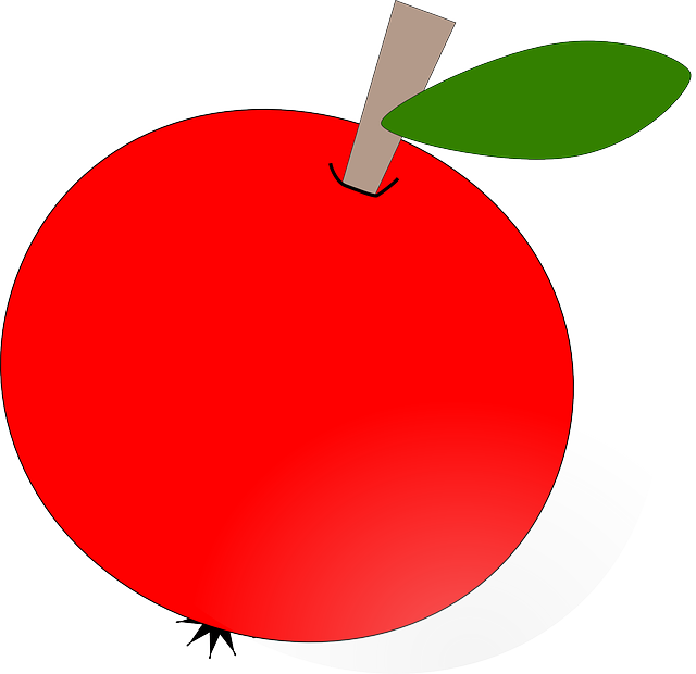 Clipart apple round, Clipart apple round Transparent FREE.
