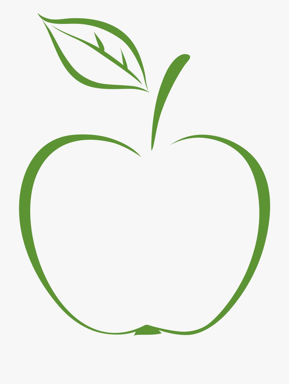 Apple Stem And Leaf Png.