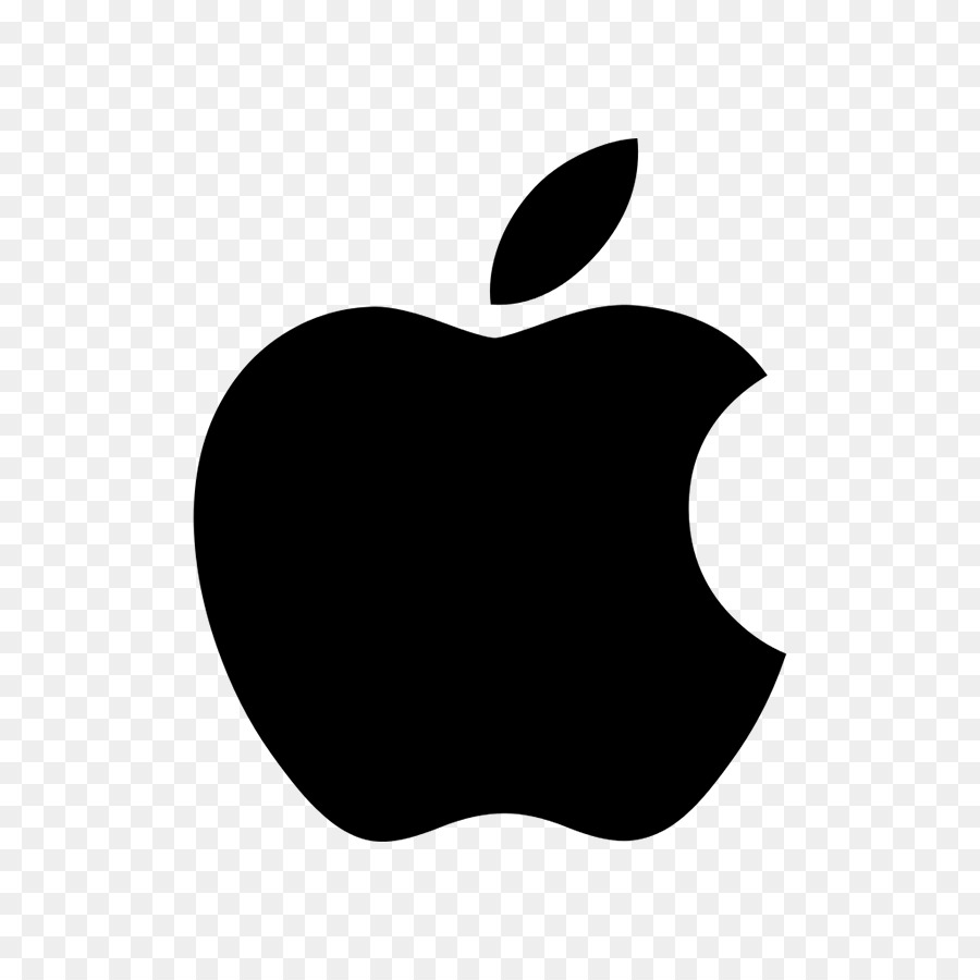 White Apple Logo png download.