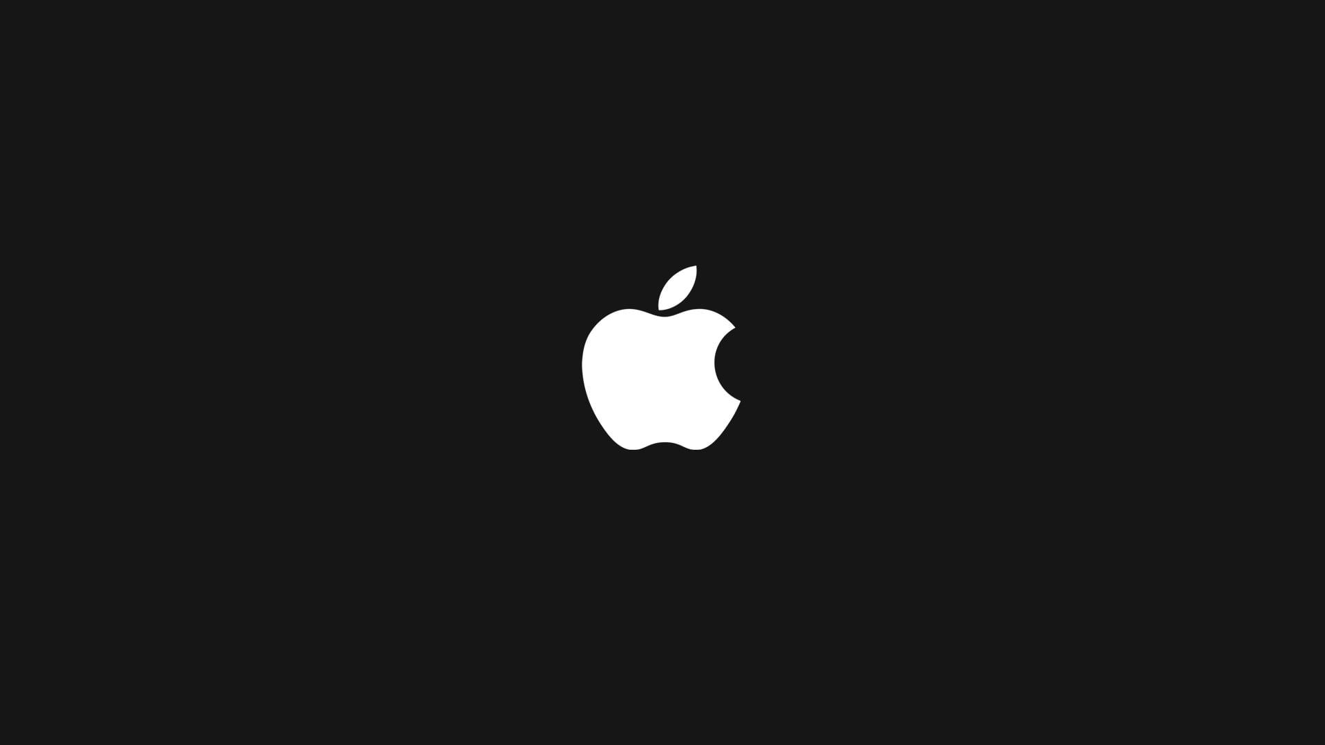 Apple Company logo HD wallpaper.