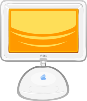 Clipart for apple computer.