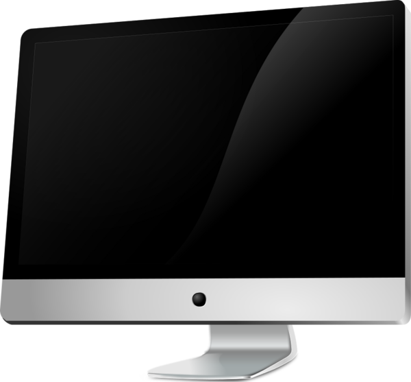 Apple computer clip art.