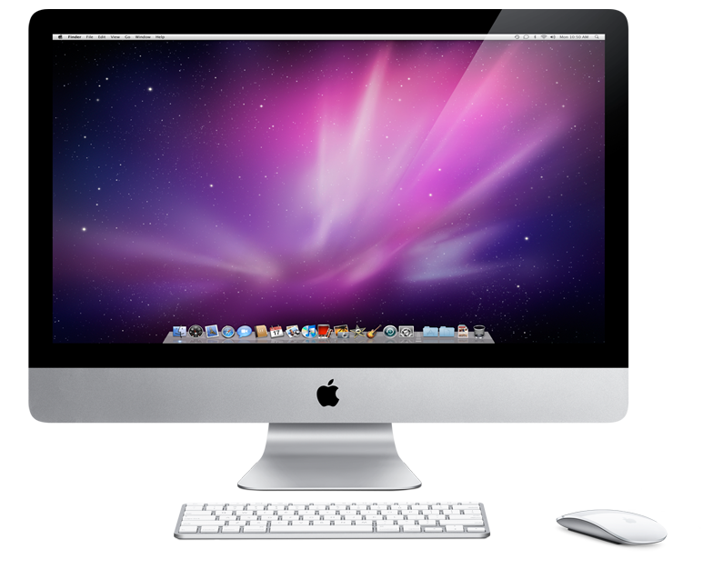 Imac desktop clipart hd.