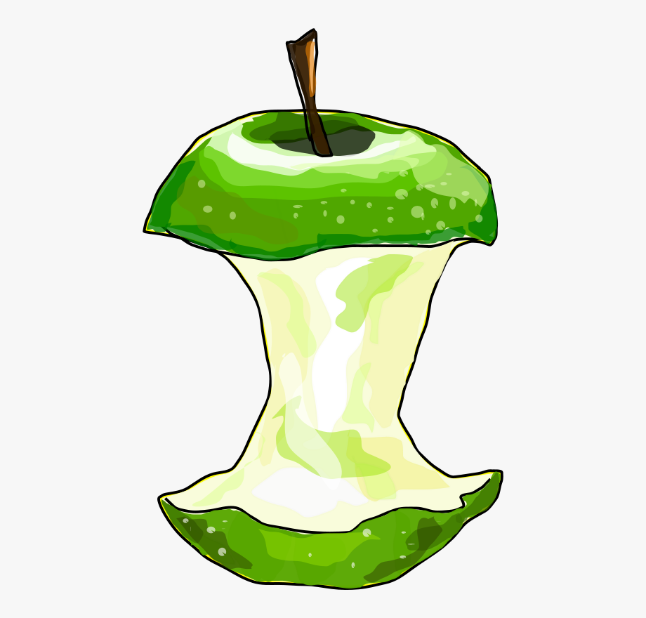 Apple Core Clipart , Transparent Cartoon, Free Cliparts.