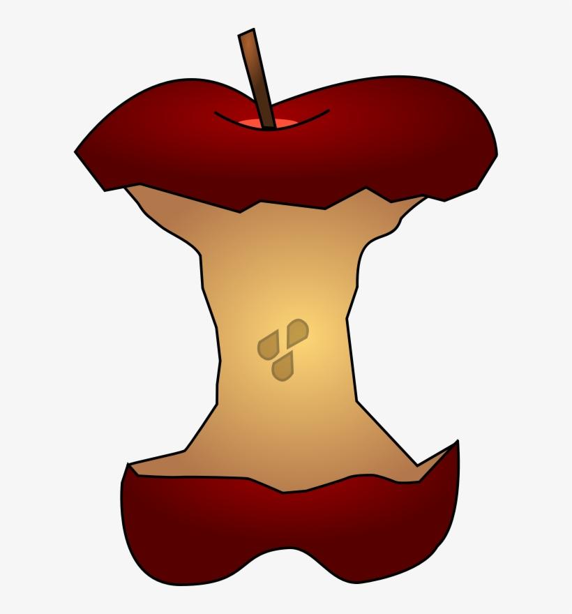 Free Apple Core Clip Art.