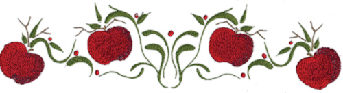 Apple corner border clipart clipart images gallery for free.