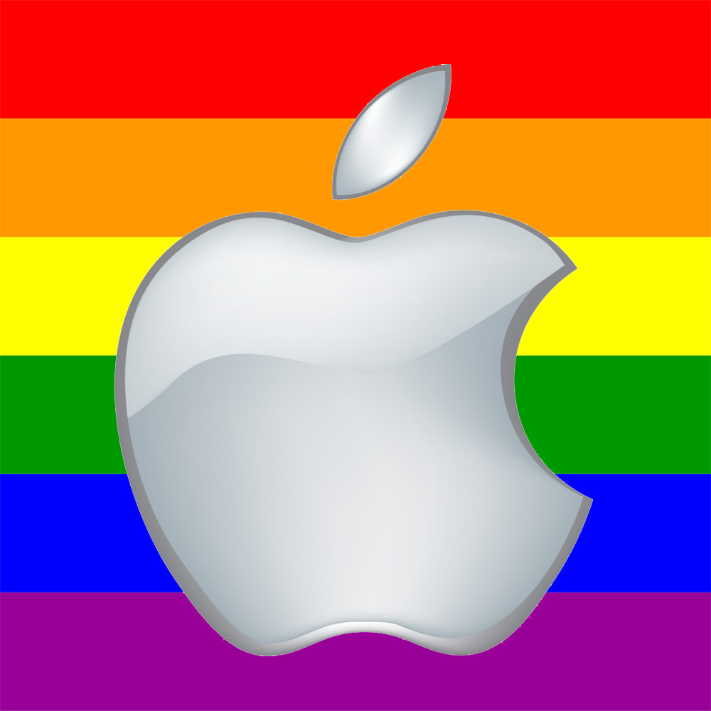 Apple Contingent Marches in Pride Parade.