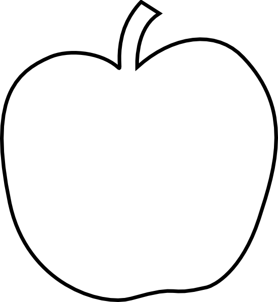 Large Apple Template ….