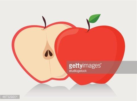 apple design Clipart Image.