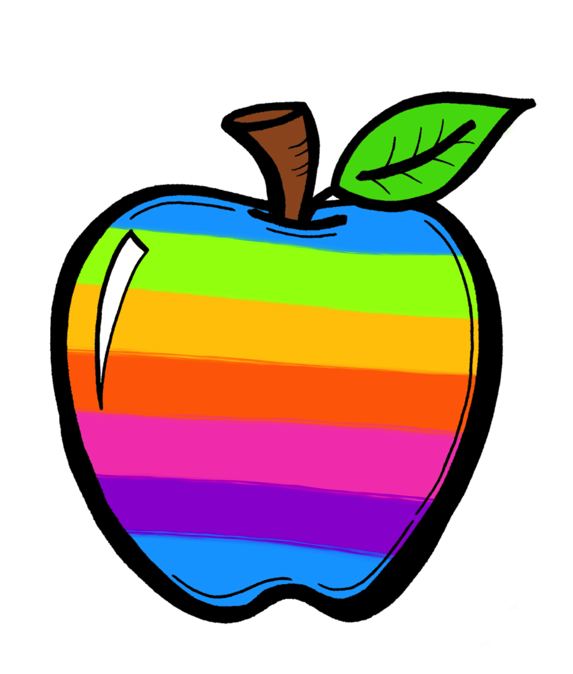 Clipart apple doodle, Clipart apple doodle Transparent FREE.