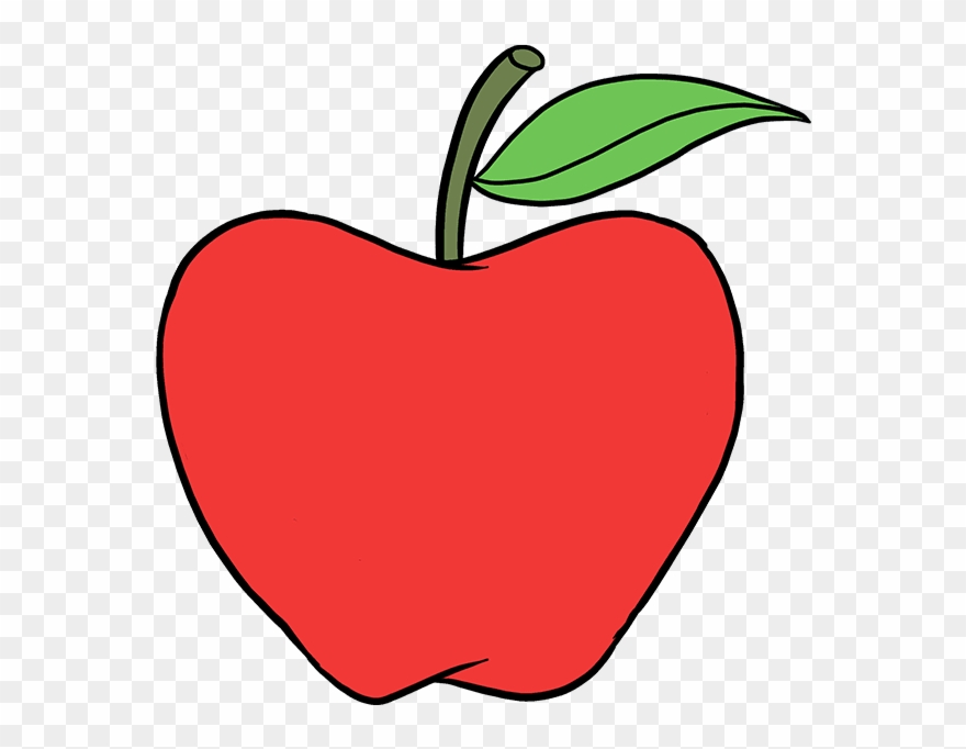 How To Draw Apple.