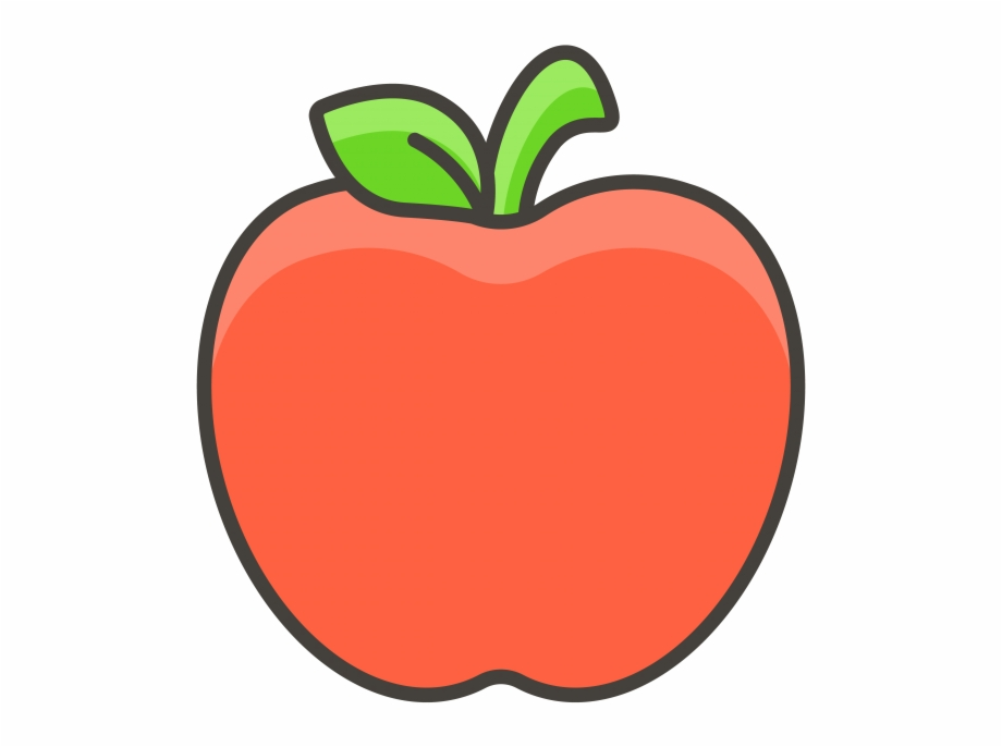 Red Apple Emoji Icon Free PNG Images & Clipart Download #903474.