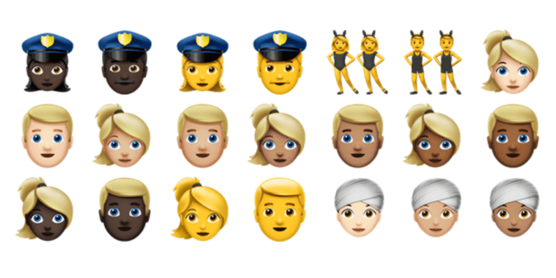 These are the 72 new emoji in iOS 10.