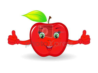 Free Cartoon Apples With Faces, Download Free Clip Art, Free.