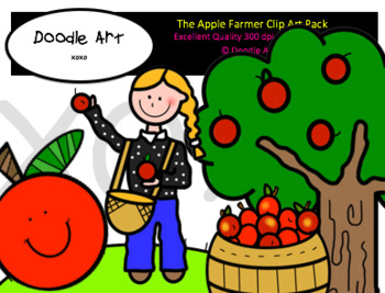 The Apple Farmer Clip Art Pack.